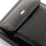 Шкіряний чоловічий гаманець / Кожаный мужской кошелек DR. BOND M55 black, фото 2