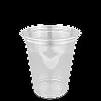 """Стаканы пластиковые под купольную крышку """"Р"""" 300мл 50шт (без крышки)"""
