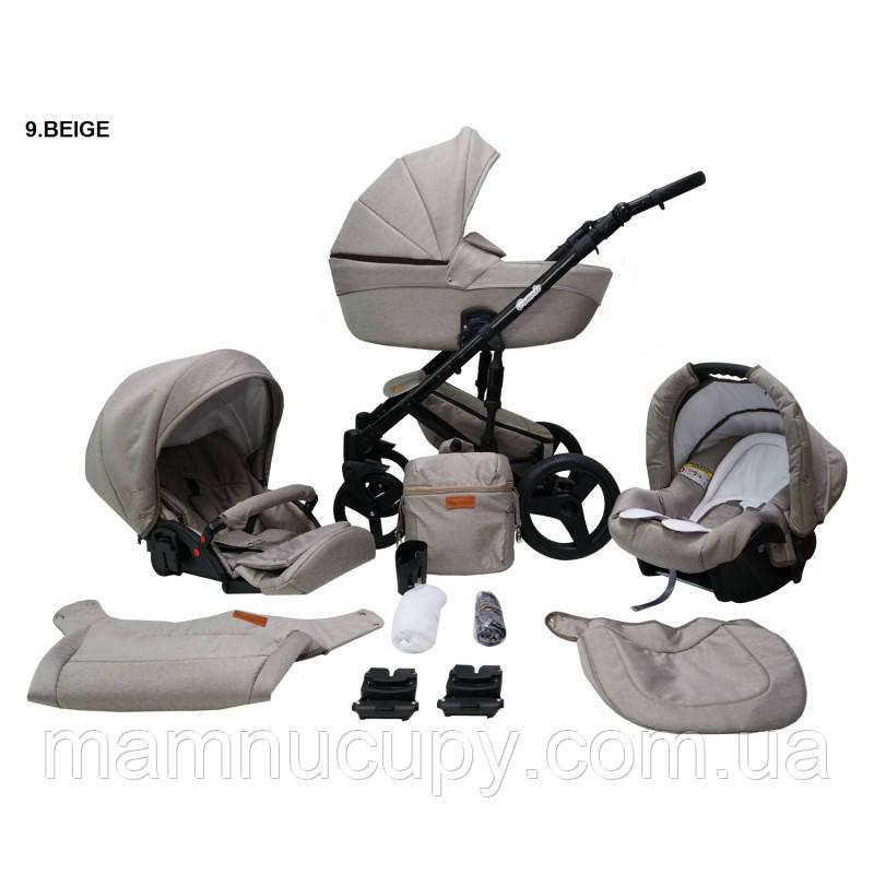 Детская универсальная коляска 2 в 1 Mikrus Comodo 9