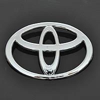 "Эмблема  ""Toyota"" Corolla зад/пластик/2 пукли  98х72мм"