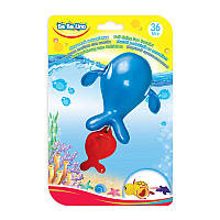 """Игрушка для ванной 'Морской путешественник-Кит"""" блистер 14*21*7,5см (57079)"""
