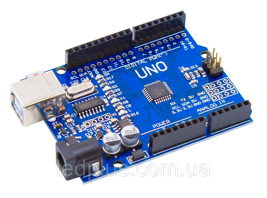 Плата Arduino Uno R3 CH340