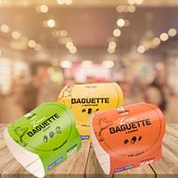 Бумажный Поясок для багетов и бургеров 232х59мм. 210г/м с Вашей печатью (1000шт в упаковке)