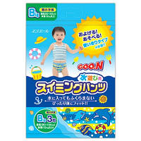 Трусики-подгузники для плавания Goo.N для мальчиков от 12 кг, ростом 80-100 см(размер Big (XL),3 шт)