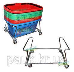 Подставка для торговых корзин 22 л, 150х335х410 мм