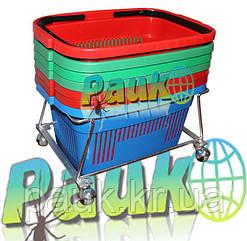 Подставка для корзины покупателя 22 л, 150х335х410 мм