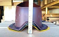 Вентиляційний вихід 150 мм ТЕПЛИЙ для ПРОФНАСТИЛУ профілю ТК 20, ТК 35, фото 1