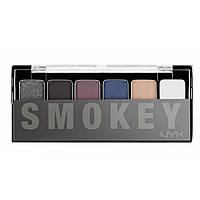Палетка теней для век NYX The Smokey Shadow Palette, фото 1