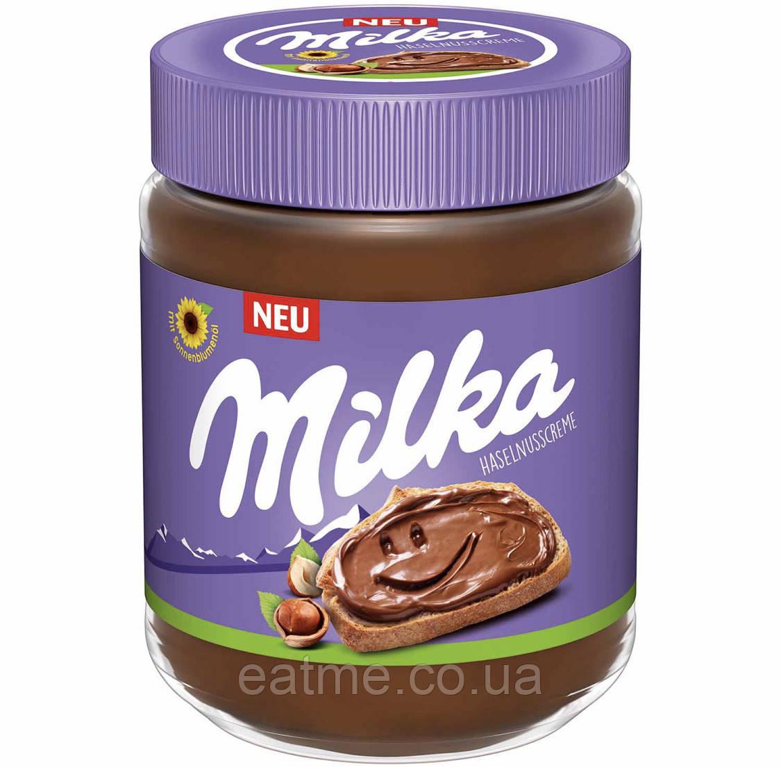 Milka Шоколадно-ореховая паста 600g