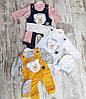 Оптом Комбінезон з Регланом для Новонароджених 3-6-9 міс. Туреччина, фото 3