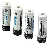 Комплект Зарядное + батарейки пальчик удобное зарядное устройство JIABAO 212AA 3278, фото 4