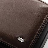 Шкіряний чоловічий гаманець / Кожаный мужской кошелек DR. BOND MSM-4 coffee, фото 2