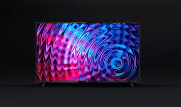 "Телевізор на стіну Philips 58"" SmartTV (Android 7.0) + 4К UHD + T2 + USB + HDMI"