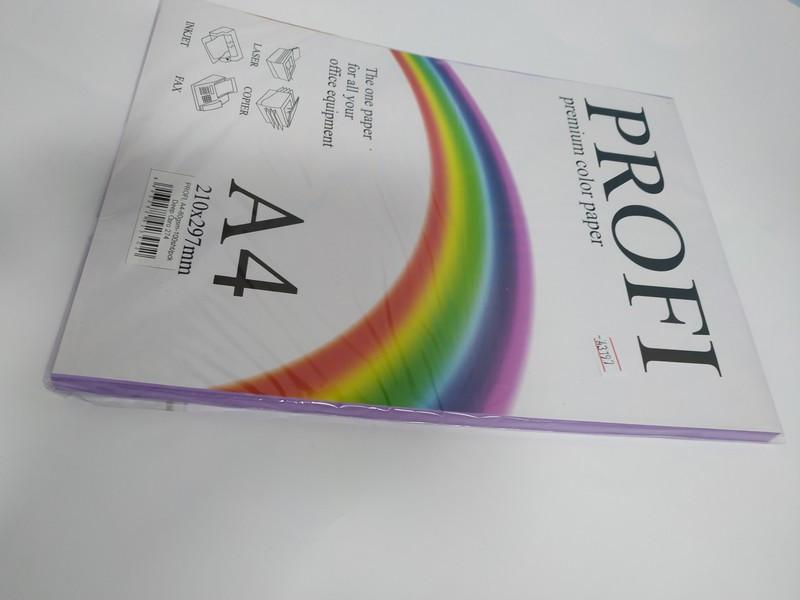 Кольоровий папір PROFI А4/80г 100арк №274 насичений фіолетовий