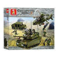 Конструктор Sluban серия Сухопутные войска 2  M38-B0309 (Элитное подразделение)