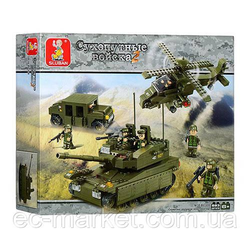 Конструктор Sluban серия Сухопутные войска 2  M38-B0309 (Элитное подразделение) - Euro City Market в Киеве