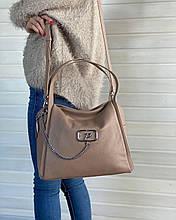 Кожаная женская сумка в  Polina&Eiterou