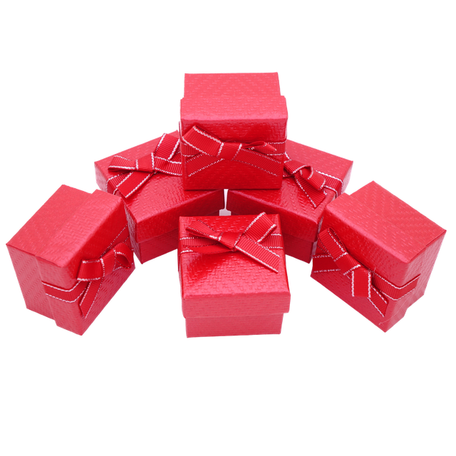 Картинка Бумажная коробка box1-3 Красный