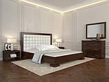 """Ліжко двоспальне дерев'яне """"Подіум"""" (Арбор Древ), фото 3"""