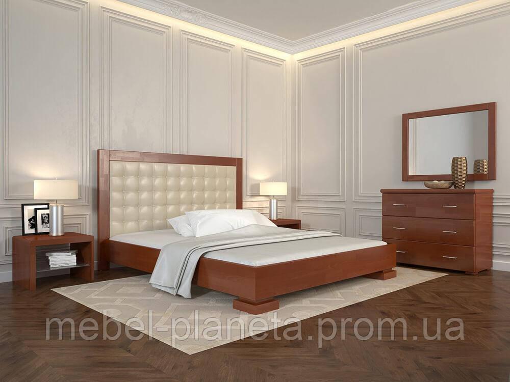 """Ліжко двоспальне дерев'яне """"Подіум"""" (Арбор Древ)"""