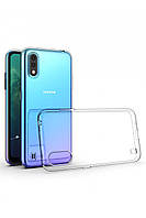 Прозрачный силиконовый чехол Samsung Galaxy A01 (2020)