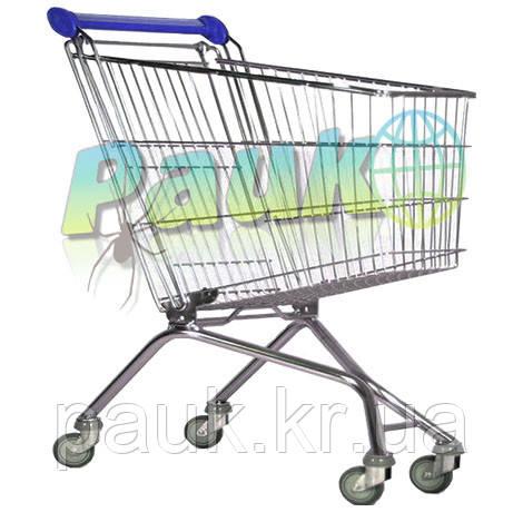 Візок покупця металевий MEC 66, торговий візок в магазин