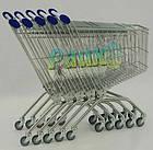 Візок покупця металевий MEC 66, торговий візок в магазин, фото 3
