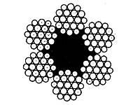 Канат стальной (трос) 16.5 ГОСТ 2688-80