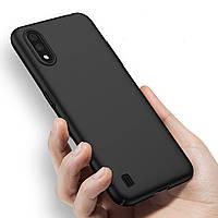 Силіконовий чохол Samsung Galaxy A01 (2020) / A015 Чорний