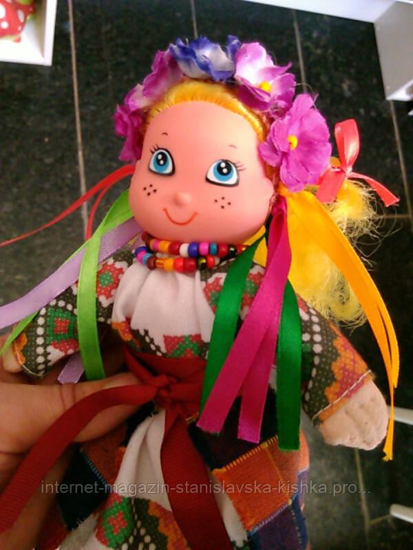 Лялька УКРАЇНОЧКА текстиль, авторська ручна робота 22 см