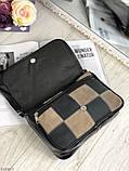 Сумка женская кожаная через плечо сумочка натуральная кожа цветная, фото 5