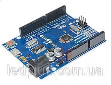 Плата Arduino Uno R3 Micro USB CH340