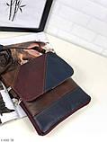 Сумка планшет женская кожаная через плечо сумка кроссбоди натуральная кожа, фото 2