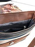 Сумка планшет женская кожаная через плечо сумка кроссбоди натуральная кожа, фото 5