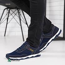 Кросівки чоловічі сітка сині 40,41р, фото 2