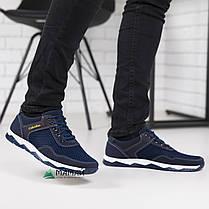 Кросівки чоловічі сітка сині 40,41р, фото 3