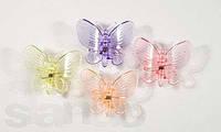Зажим для орхидей Бабочка большая, круглые крылья