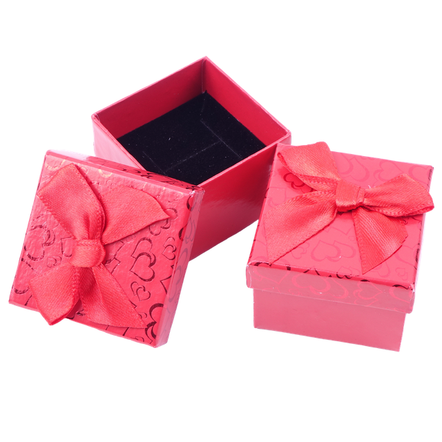 Картинка Коробочка подарочная box1-4 Красный