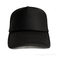 Якісна чорна кепка тракер унісекс, фото 1
