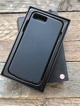Чехол аккумулятор, павербанк для Iphone 6 plus, 6s Plus, 7Plus ,8Plus на 4000 мАч черный