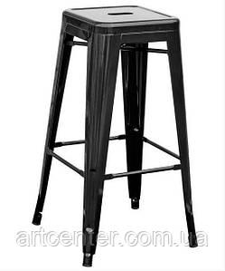 Стул барный ТОЛИКС, высокий, металл черный