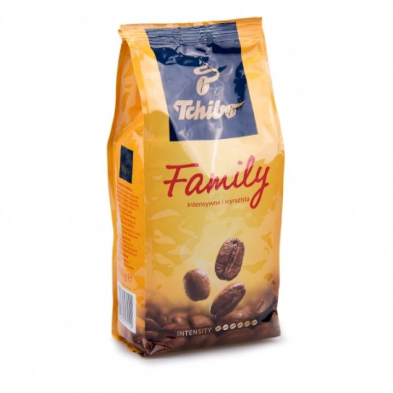 Кава мелена середньої обжарювання і середнього помелу Tchibo Family, 450г