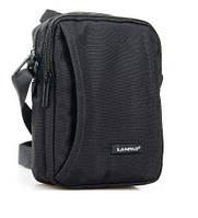 Мужская сумка-планшет нейлон Lanpad 8348 черная, фото 1