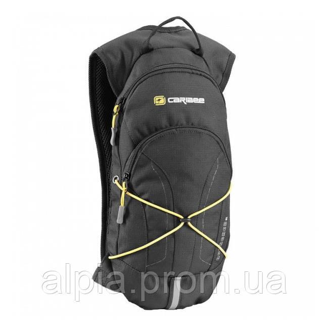 Спортивный рюкзак Caribee Quencher 2L Black Yellow + питьевая система