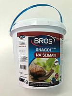 Лимацидний засіб BROS Снаколь від слимаків 800г банка