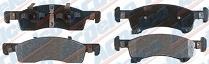 Колодки тормозные передние ACDELCO 17D934M