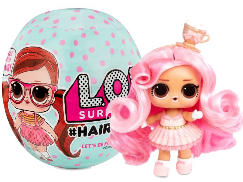 Кукла ЛОЛ Сюрприз Модные прически с волосами и париками - LOL Surprise Hairvibes 564744