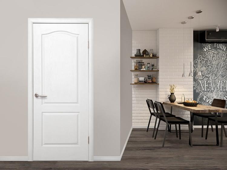 Межкомнатные белые двери под покраску