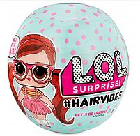Кукла ЛОЛ Сюрприз Модные прически с волосами и париками - LOL Surprise Hairvibes 564744, фото 2