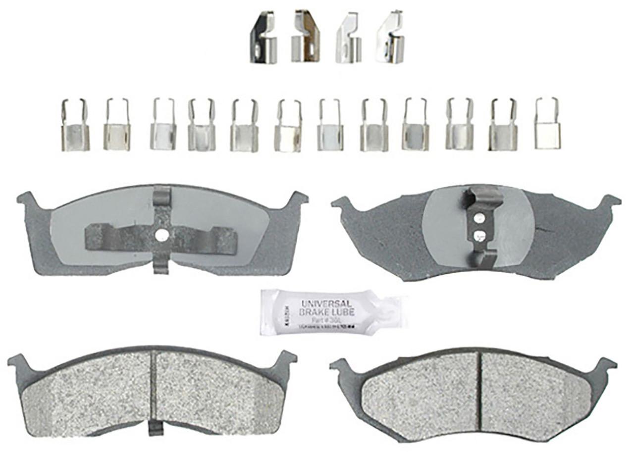 Колодки тормозные передние ACDELCO 14D730CH